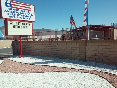 Hemet Self Storage Facility