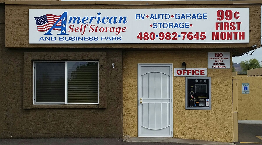 American RV, Self Storage and Business Park